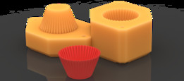 Mold for Silicone Cupcake Cup | TRINOTA