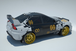 CyAnide rally car