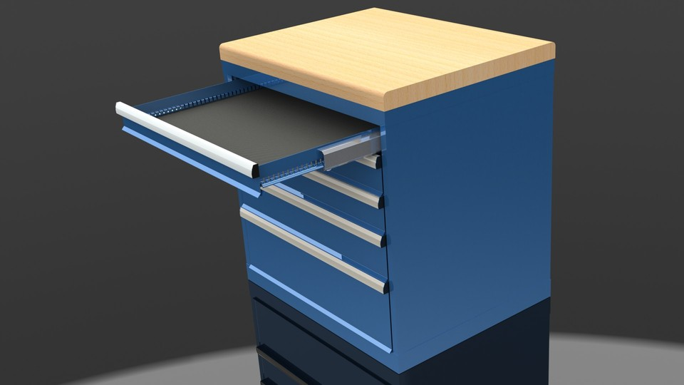 Solidworks Cabinets | Mail Cabinet
