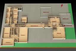Plan Ground Level School