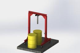 1000 gal tank stand