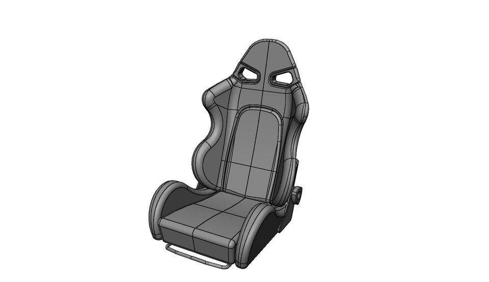Bride Style Sparco Race Car Seat