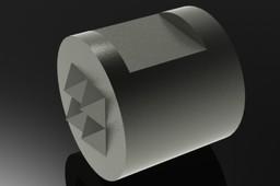 carbide insert jaw
