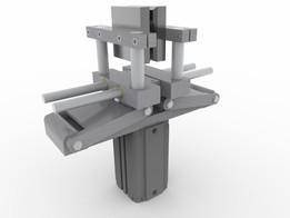 Pneumatic controlled robot gripper