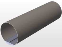 Hyperloop Steel tube
