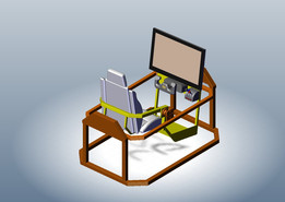 2 DOF motion simulator