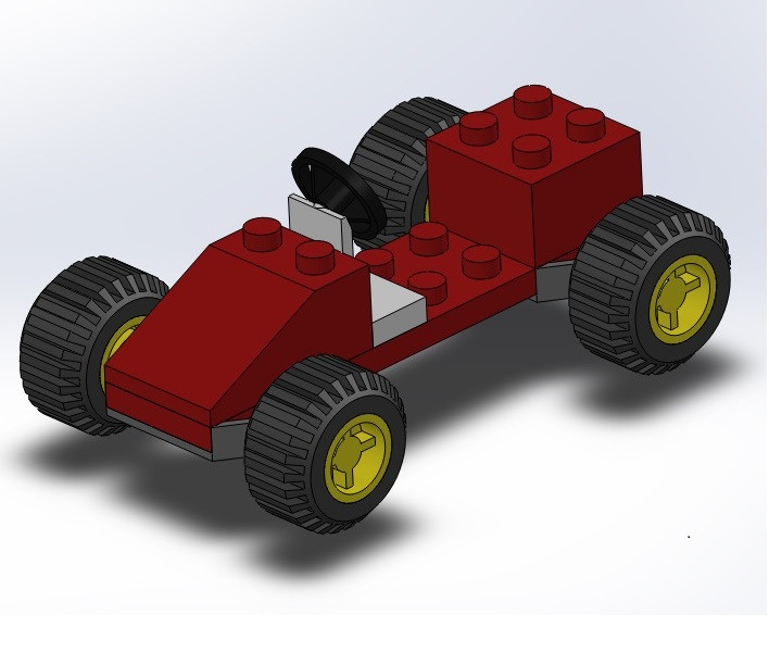 YouTube Tutorial Toy Lego Car