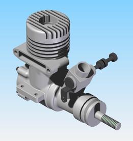 OS .25 SF ABC Engine
