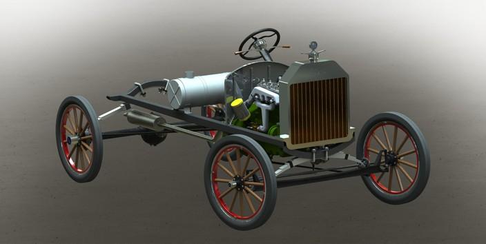 Ford Model T Chassis : Ford model t chassis