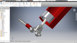 Cylinder and Crank Shaft mock up to demonstrate the way it works