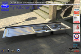 CATIA Skills Showcase - My Kitchen Sink