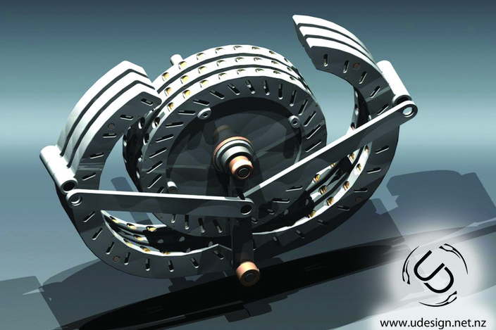 Magnetic Motor Concept - STL, STEP / IGES, Other - 3D CAD model ...