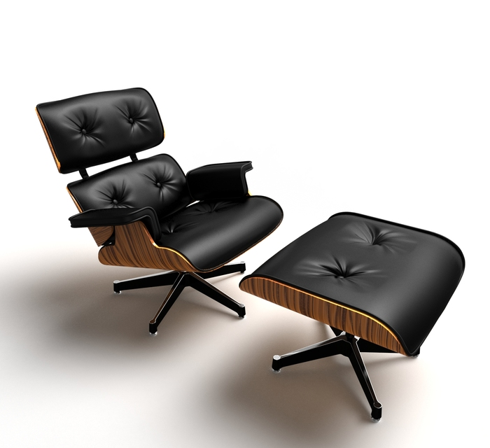 eames lounge chair 3d model free download