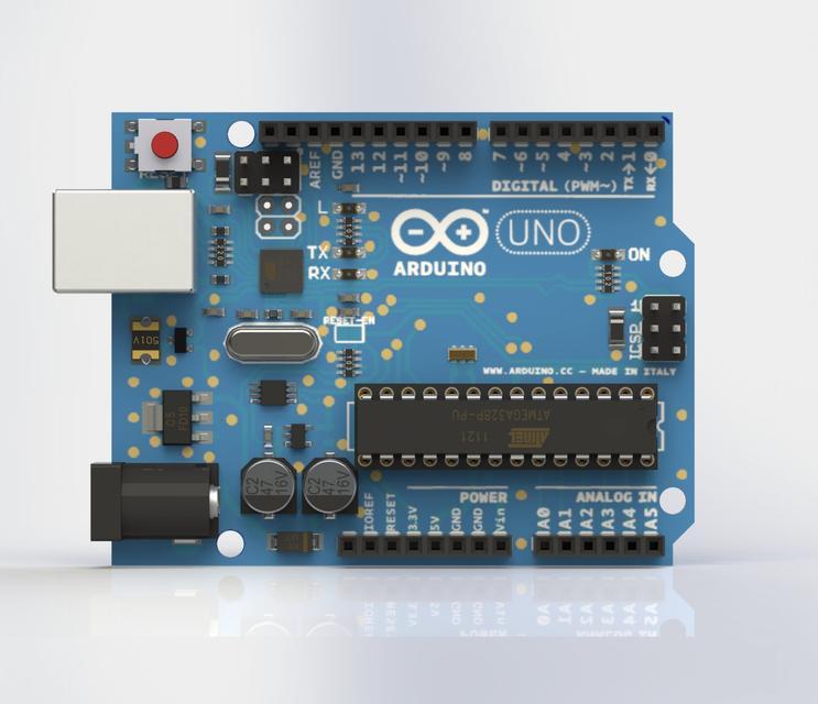 Arduino uno r d cad model library grabcad