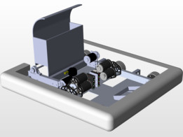 Robot Chassis with Intake