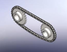SOLIDWORKS, chain - Most downloaded models | 3D CAD Model