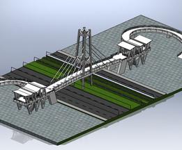 ÜST GEÇİT  (footbridge)