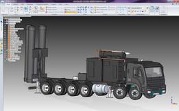 Brahmos Missile Launcher Truck