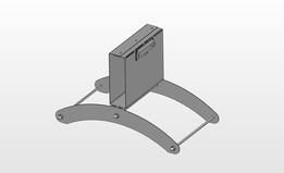 ENWAR A5 sheet display stand