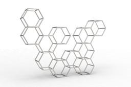Beehive rack