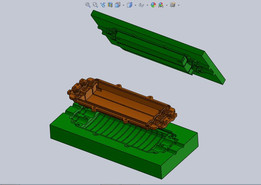 Solidworks mold.