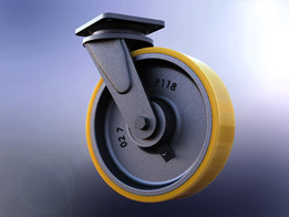 Heavy Duty 300mm Caster wheel