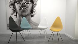 Drop Chair by Arne Jacobsen