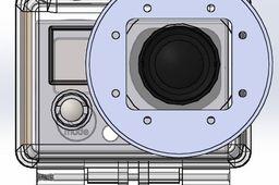 GoPro Hero 3 55 Millimeter Lens Adapter