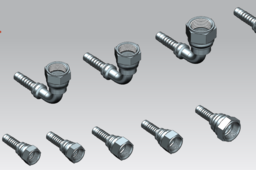 JIC PIPE FITTINGS