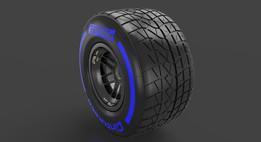 F1 2015 Tyre Wet 245/670-13 (Front RH)