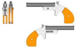derringer - Recent models | 3D CAD Model Collection | GrabCAD