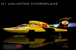 H1 Unlimted Hydroplane