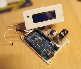 Arduino 2560 mouting plate for 2 stepper driver and LCD