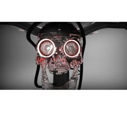 Haloween + Bike Light (+ optional smoke machine)!!!