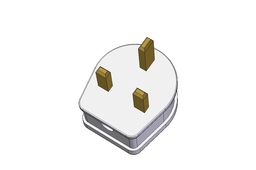 13A UK Mains Plug (Generic space-sample)