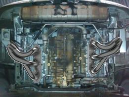 Porsche 911 twin turbo headers