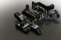 special designing and modeling rescue and millitary robot(bronz medalia in ITI 2011 international innovation competition by aslan khani)