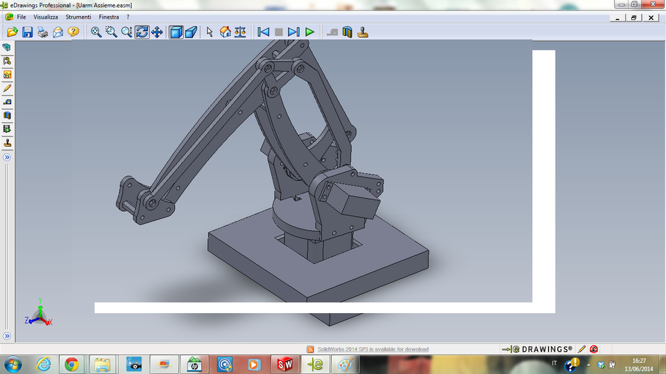 Nyro Robotic Arm