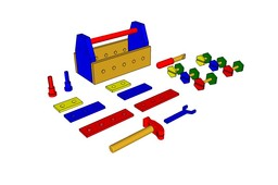 Toy Toolbox Set