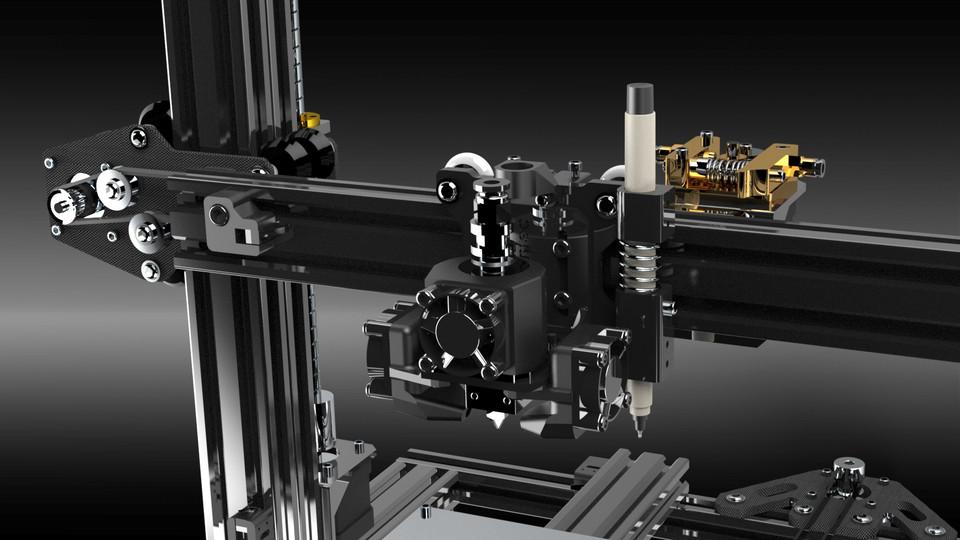 Xgentec 3D & PCB Printer | 3D CAD Model Library | GrabCAD