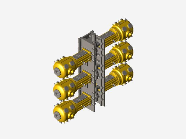 Ariel 6 Throw Compressor | 3D CAD Model Library | GrabCAD