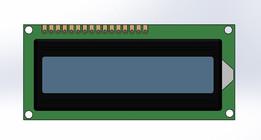 Pantalla LCD 2x16
