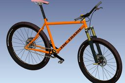 Single Speed Bycicle