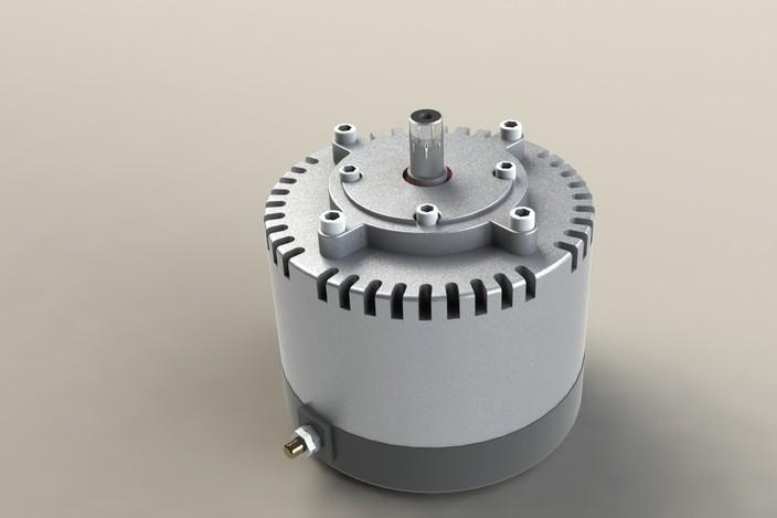 Etek motor step iges solidworks 3d cad model grabcad for Etek r brushed dc electric motor
