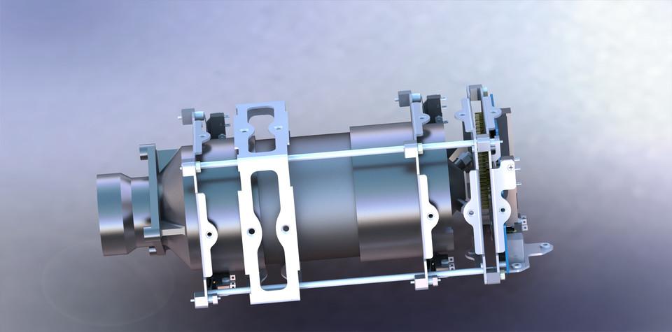 CubeSat Propulsion System | 3D CAD Model Library | GrabCAD