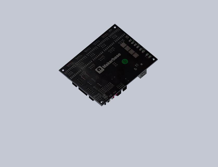 Makerbase MKS Gen L V1 0 | 3D CAD Model Library | GrabCAD