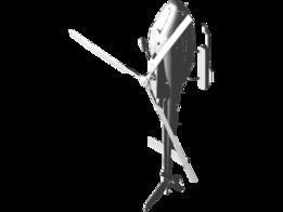 AIRBUS HELICOPTERS AS350 B3 ECUREUIL  EUROCOPTER 3D Model