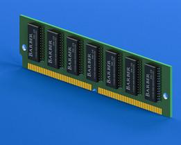 72-pin Single Inline Memory Module (SIMM)