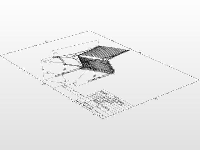 Laser Cut Chair - Flat pack | 3D CAD Model Library | GrabCAD