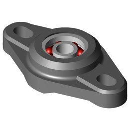 EFOM-BB1-P10-B180-ES Two hole flange bearing